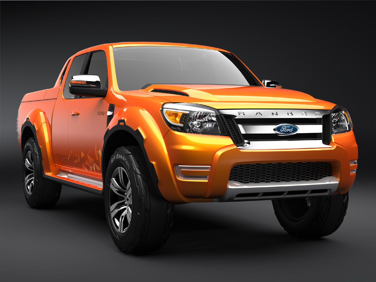 ford ranger max concept auf der thailand motor show 4 wheel. Black Bedroom Furniture Sets. Home Design Ideas